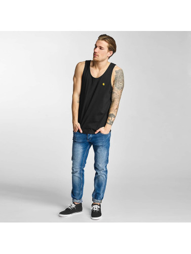 Carhartt WIP Hombres Tank Tops Chase in negro