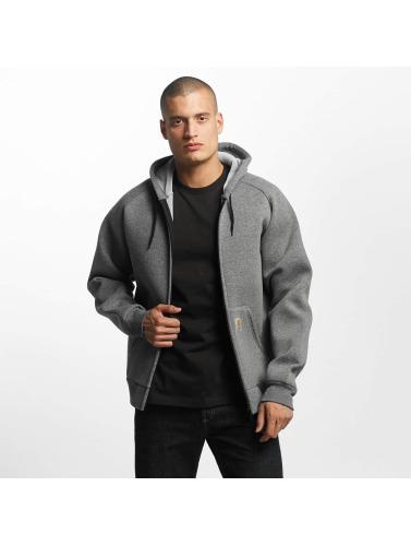 Carhartt WIP Herren Übergangsjacke Car-Lux Hooded in grau