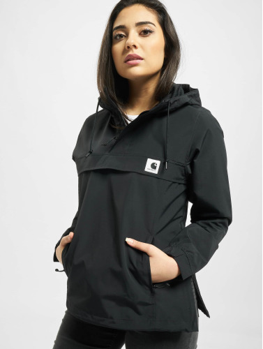 Carhartt Wip Dames Veste De Transition Supplex Nimbus En Noir