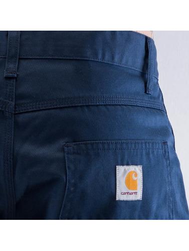Carhartt WIP Hombres Vaqueros anchos Cortez Slim Fit Skill in azul