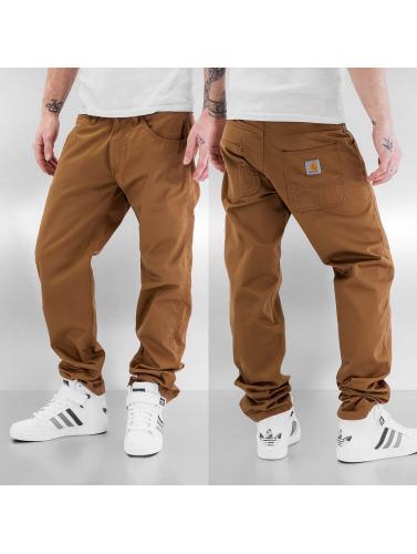 Carhartt Slim Vaqueros Cortez Hombres WIP marrón in Fit anchos Skill IxXUwXqEr