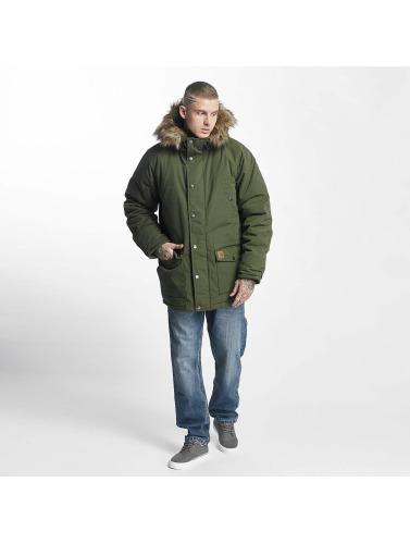 Carhartt WIP Herren Winterjacke Trapper in grün