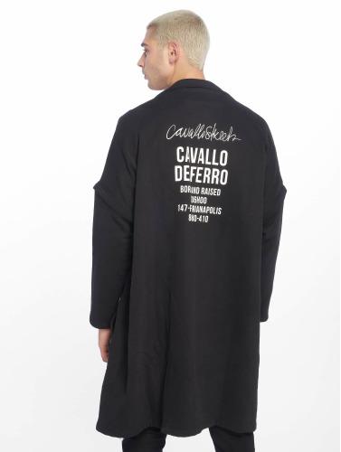 Cavallo de Ferro Hombres Abrigo Coat in negro