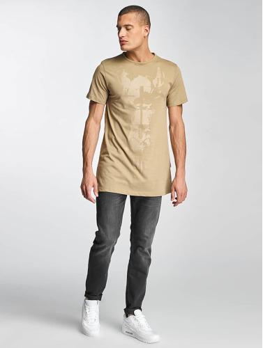 Cavallo de Ferro Hombres Camiseta Streets in beis