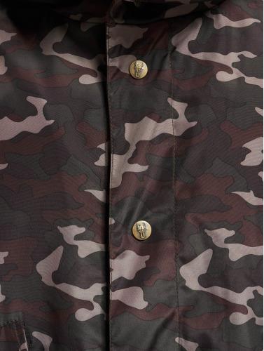 Cavallo de Ferro Hombres Chaqueta de entretiempo Mono in camuflaje