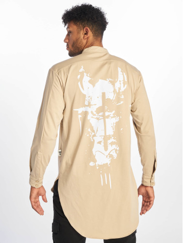 Cavallo De Ferro Logo À Manches Longues Pour Homme En Beige