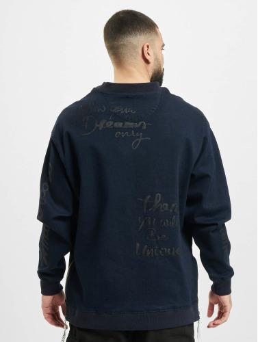 Cavallo de Ferro Herren Pullover Denim in blau