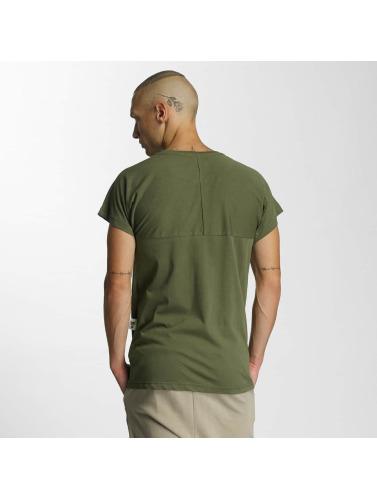 Cavallo de Ferro Herren T-Shirt Logo in olive