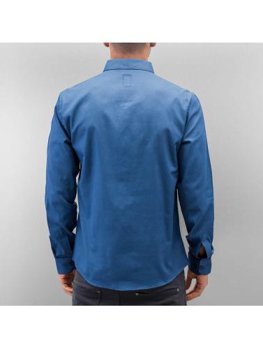 Cazzy Clang Hombres Camisa Norick in azul