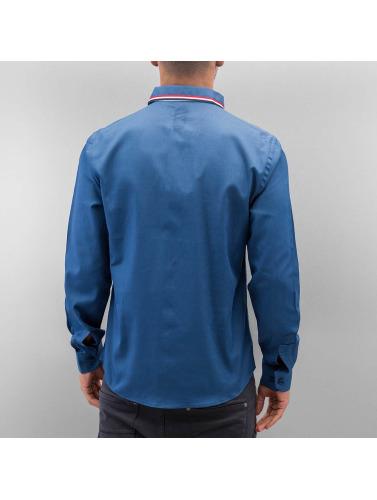 Cazzy Clang Hombres Camisa Renjo in azul