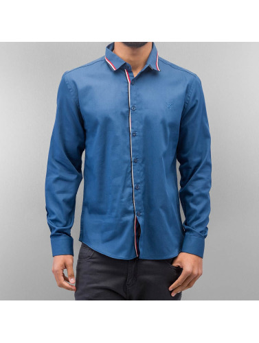 Cazzy Clang Herren Hemd Renjo in blau