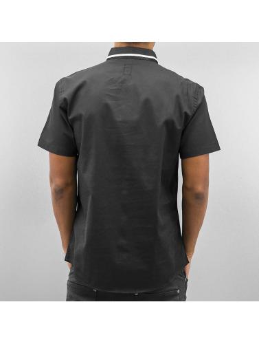 Cazzy Clang Herren Hemd Short Sleeves in schwarz