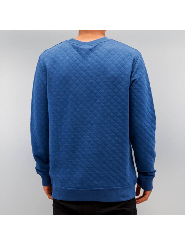 Cazzy Clang Hombres Jersey Honeycomb in azul
