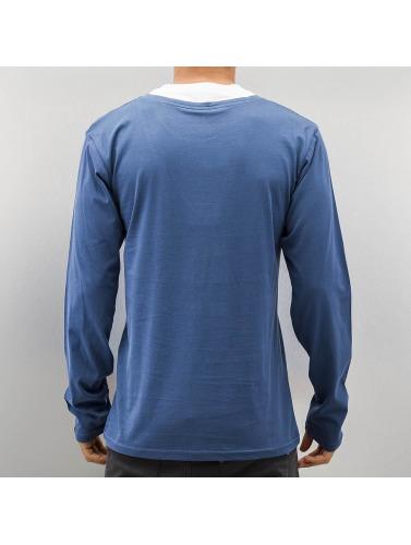 Cazzy Clang Herren Longsleeve Breast Pocket in blau