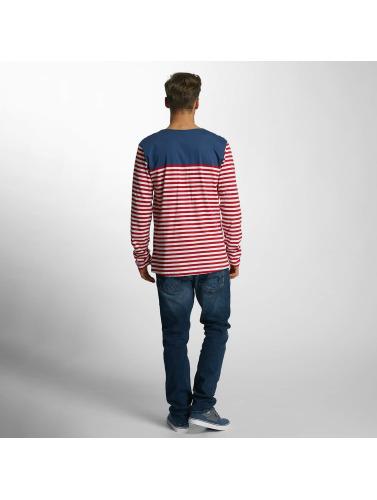 Cazzy Clang Herren Longsleeve Stripes in rot