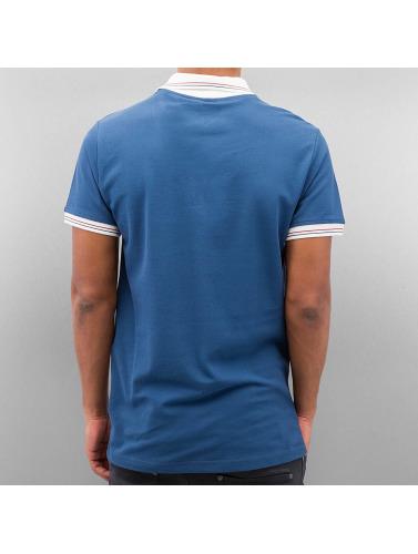 Cazzy Clang Herren Poloshirt Damp in blau
