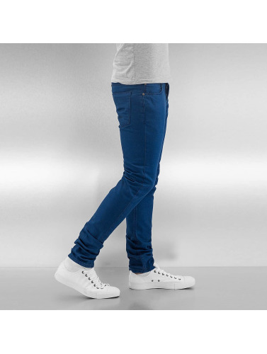Cazzy Clang Herren Skinny Jeans Tone II in blau
