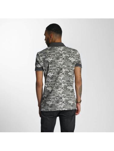 CHABOS IIVII Hombres Camiseta polo Camo in camuflaje