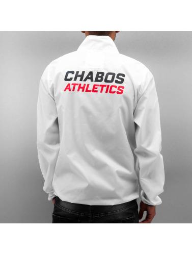 CHABOS IIVII Hombres Chaqueta de entretiempo Athletics Lightweight in blanco