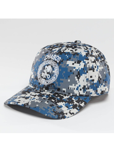 CHABOS IIVII Snapback Cap Round Panel in camouflage