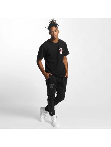 CHABOS IIVII Herren T-Shirt Djart in schwarz