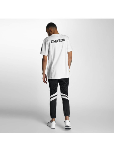 CHABOS IIVII Herren T-Shirt Football Jersey in weiß