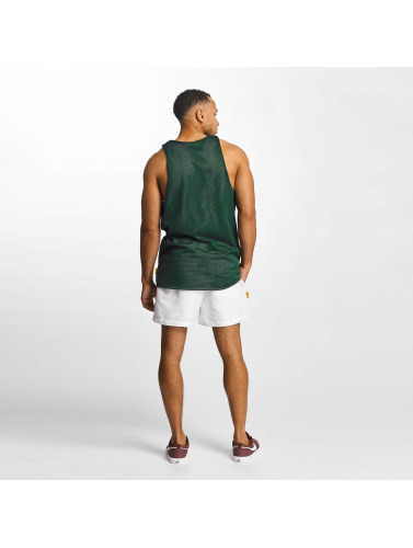 CHABOS IIVII Hombres Tank Tops Reversible Mesh Jersey in verde