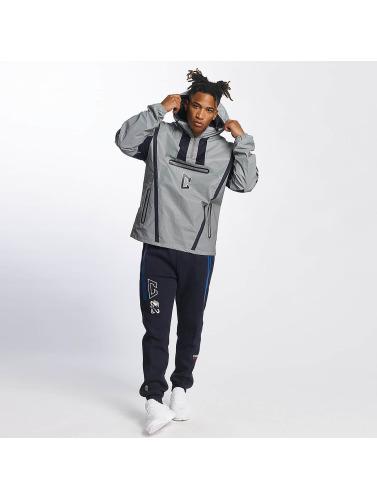 CHABOS IIVII Herren Übergangsjacke Half Zip Hooded in grau Kauf Shop Selbst Spielraum Erhalten Authentisch 2018 Neuer Günstiger Preis Verkauf Fabrikverkauf y6hui