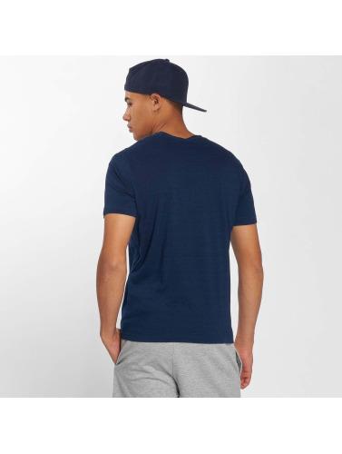 Champion Athletics Hombres Camiseta Athletic Apparel in azul