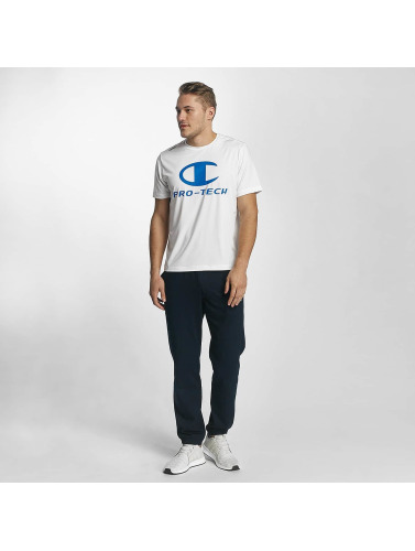 Champion Athletics Hombres Camiseta Pro Tech in blanco
