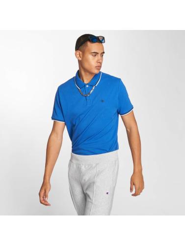 Champion Athletics Hombres Camiseta polo Authentic Athletic Apparel in azul