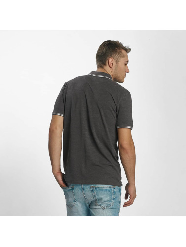 Champion Athletics Hombres Camiseta polo Metropolitan in gris