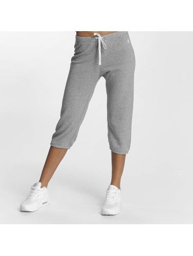 Champion Athletics Damen Jogginghose Apparel 3/4 Elastic Cuff in grau