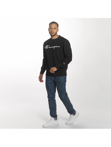 Champion Hombres Jersey Logo in negro