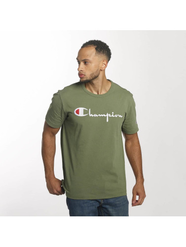 Champion Herren T-Shirt Cotton Graphic in olive
