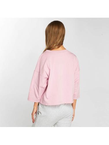 Champion Damen T-Shirt Classic Script in rosa