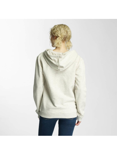 Cleptomanicx Damen Hoody Floral Box in beige