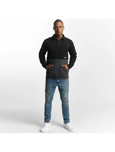 Cleptomanicx Herren Pullover 91 Trainer in schwarz