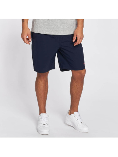 Cleptomanicx Herren Shorts Track in blau