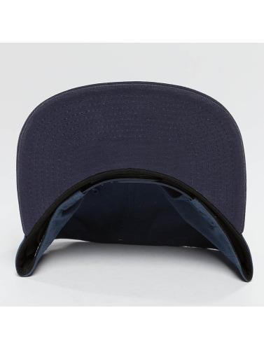 Cleptomanicx Herren Snapback Cap Badger 2 in blau