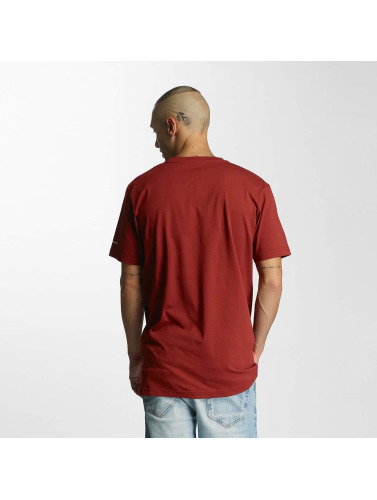 Cleptomanicx Herren T-Shirt Basic in rot