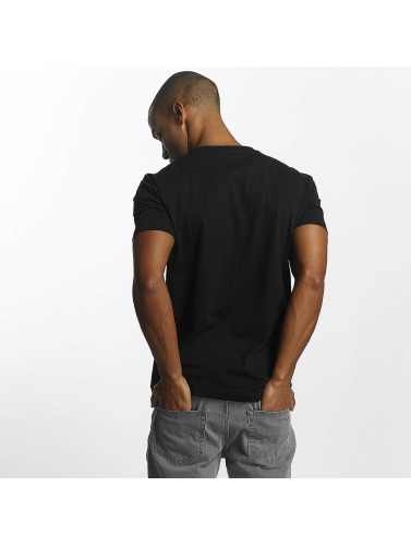 Cleptomanicx Herren T-Shirt 91 Basic in schwarz