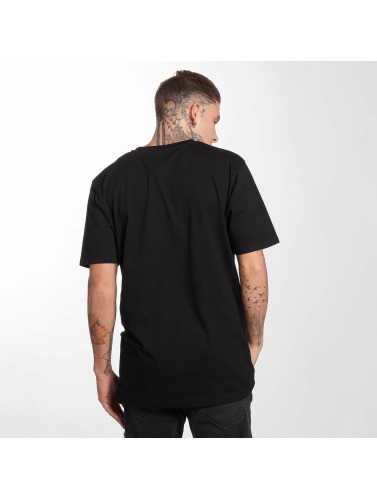 Cleptomanicx Herren T-Shirt Cikarma Basic in schwarz