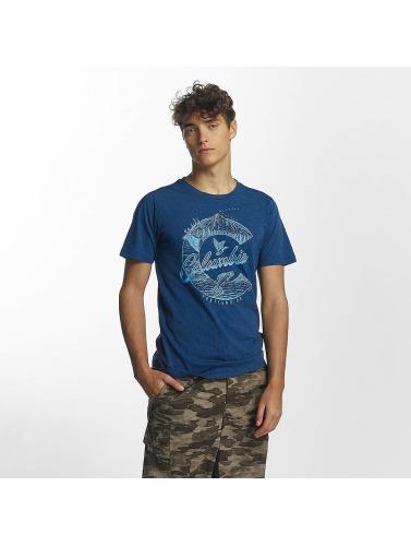 Columbia Hombres Camiseta CSC Elements in azul