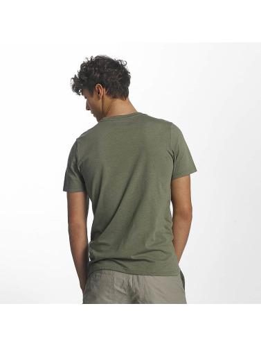 Columbia Hombres Camiseta Mosstone Heather in oliva