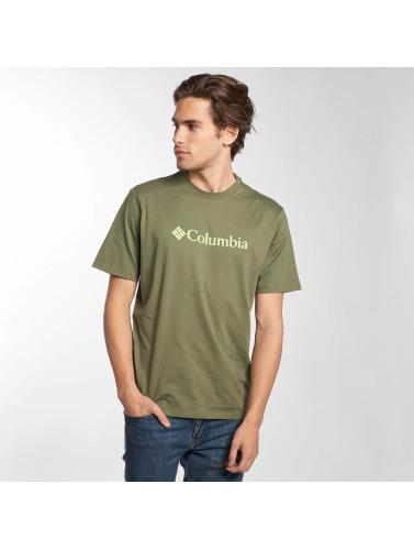 Columbia Hombres Camiseta CSC Basic Logo in oliva