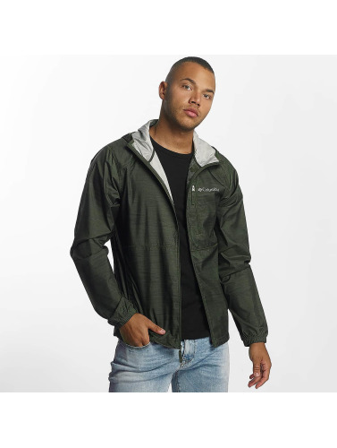 Columbia Hombres Chaqueta de entretiempo Flash Forward Print in oliva