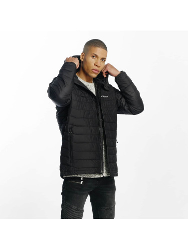 Columbia Herren Winterjacke Powder Lite in schwarz