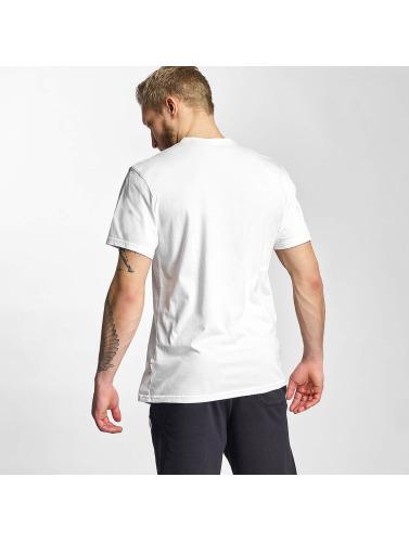Converse Hombres Camiseta Core Chuck in blanco