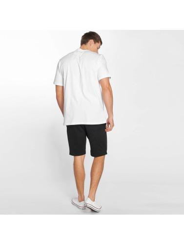 Converse Hombres Camiseta Star Block in blanco